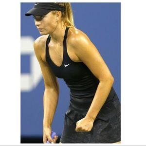 NIKE Dri fit black DRESS medium tennis Sharapova